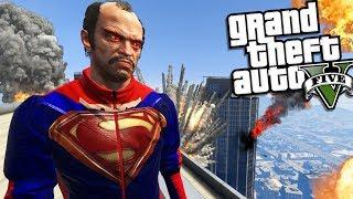 TREVOR becomes SUPERMAN (GTA 5 Mods)