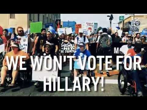 """#NEVERHILLARY: Thousands of Pissed off People Crash the DNC, Boo Every Time They Hear """"Hillary"""""""