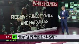 Germany's decision to take in White Helmets sparks anger among MPs