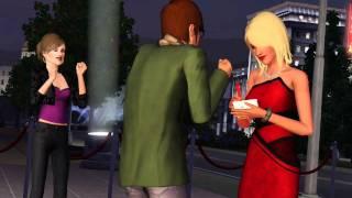 The Sims 3 В сумерках - Видеоролик с запуска игры