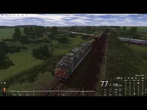 Trainz 2019, Маршрут - Ростовский узел, от ст.Каяла до ст.Батайск на грузовом