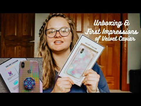 Velvet Caviar Unboxing & First Impressions thumbnail