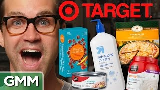 Target Brand Taste Test by : Good Mythical Morning