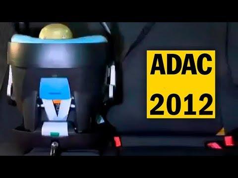 Краш-тест детских автокресел ADAC 2012 на русском