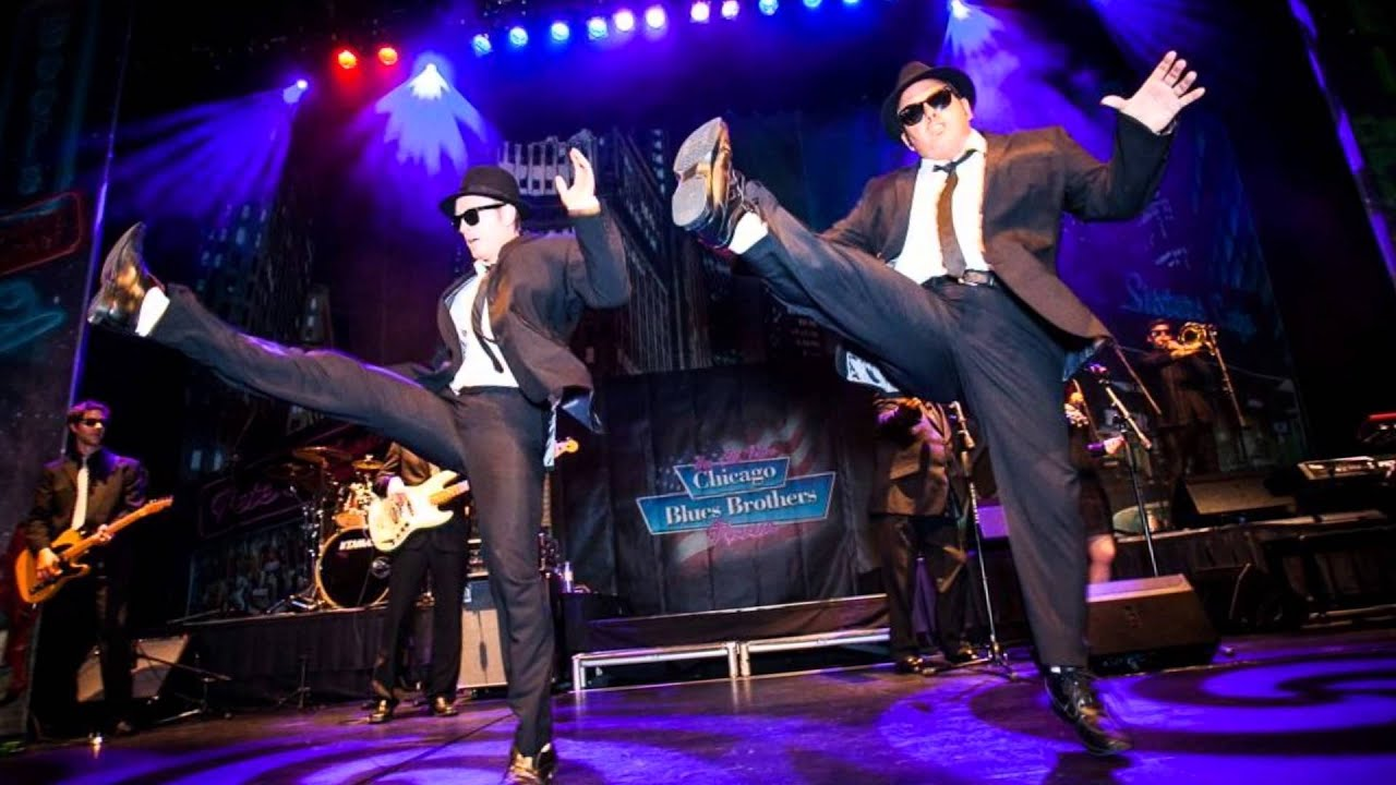 Chicago Blues Brothers Live at the Embassy Theatre Skegness