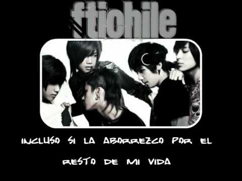 FT ISLAND - Hate And Resentment sub esp