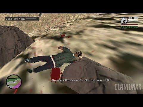 GTA San Andreas WASTED Compilation ( Ragdoll Physics ) #1