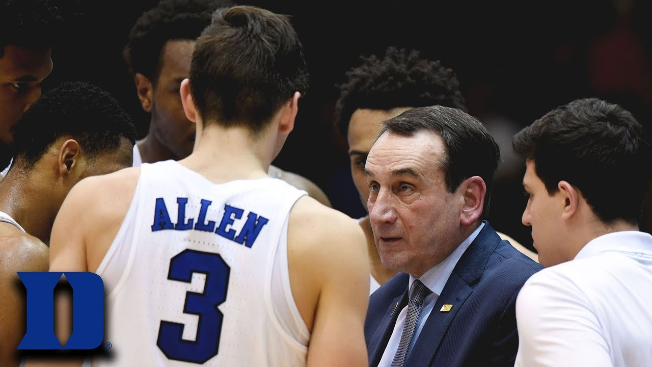 Coach K: Duke's Legendary Leader - YouTube