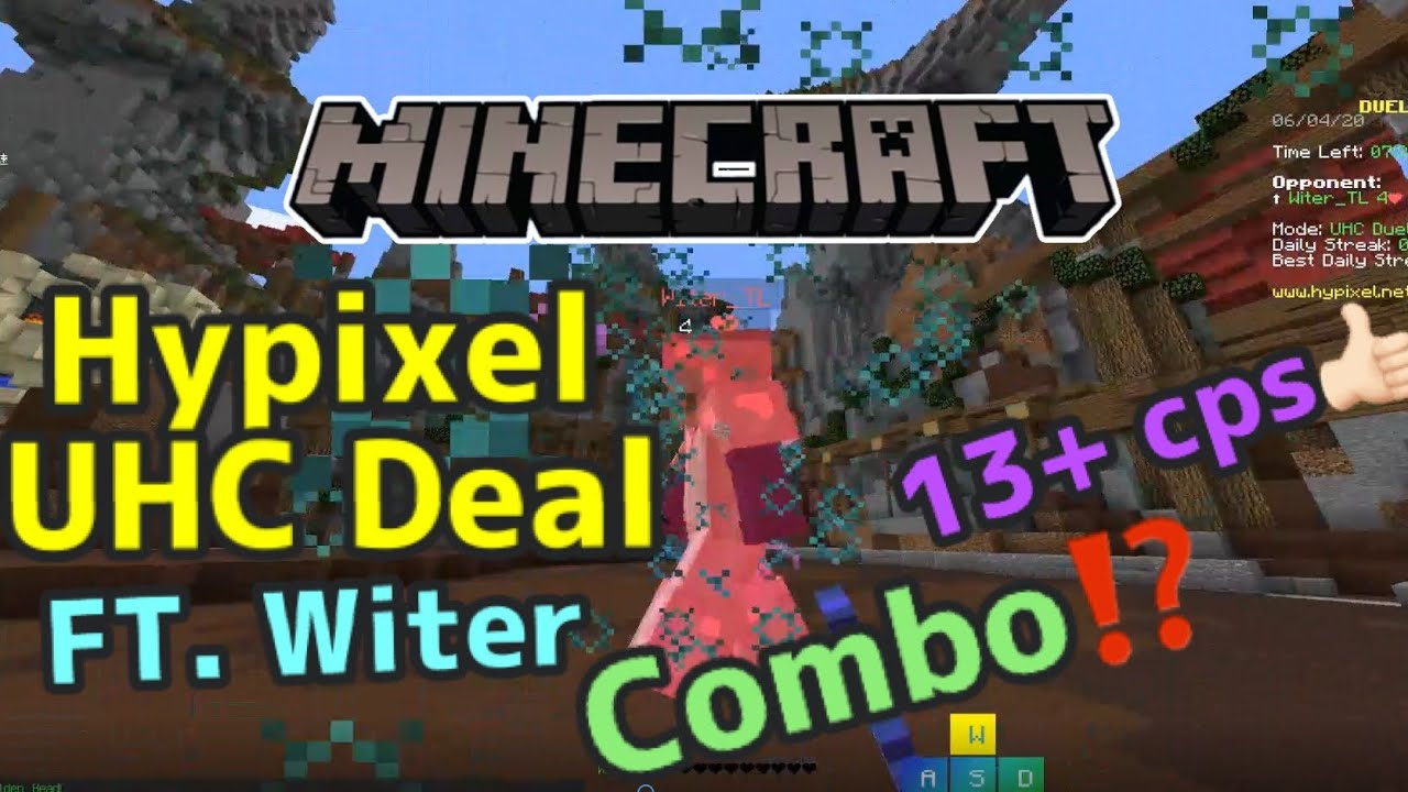 [Minecraft] Hypixel UHC Deal FT.witer