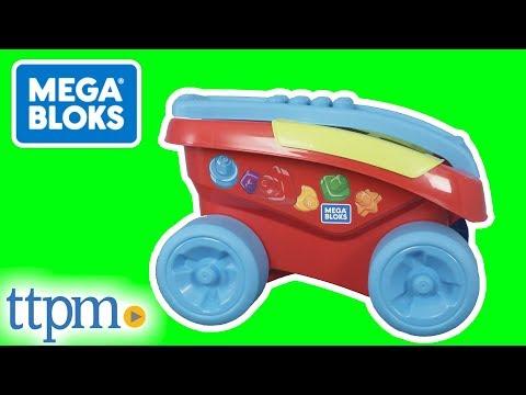 MEGA Bloks Shape Sorting Wagon From Fisher-Price