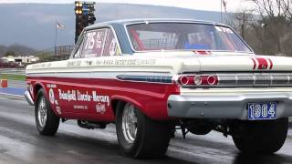 FE Race and Reunion 2014 Mercuryjunky and American Muscle 1964 A/FX Comet and 1964 Thunderbolt
