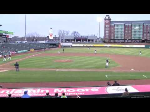 Rivier College Baseball Vs Fisher Cats 0410