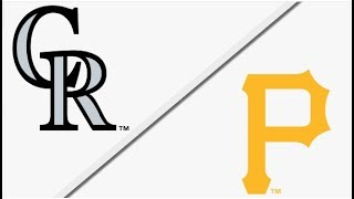 Colorado Rockies vs Pittsburgh Pirates | Full Game Highlights | 4/18/18