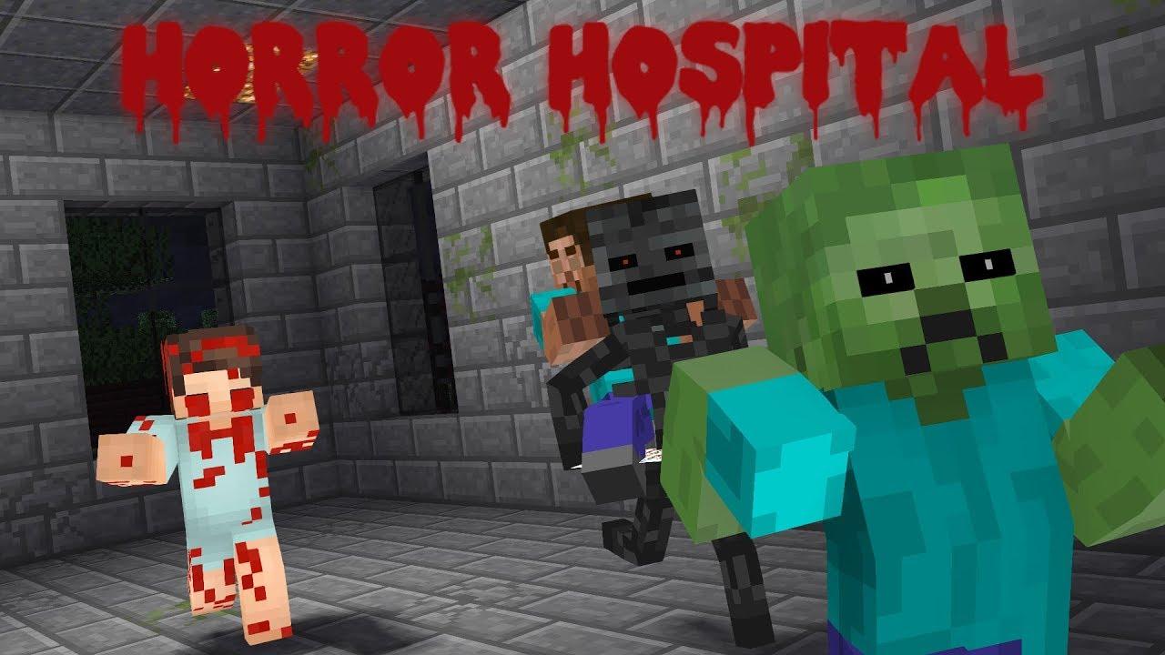 Monster School: Horror Hospital - Minecraft Animation