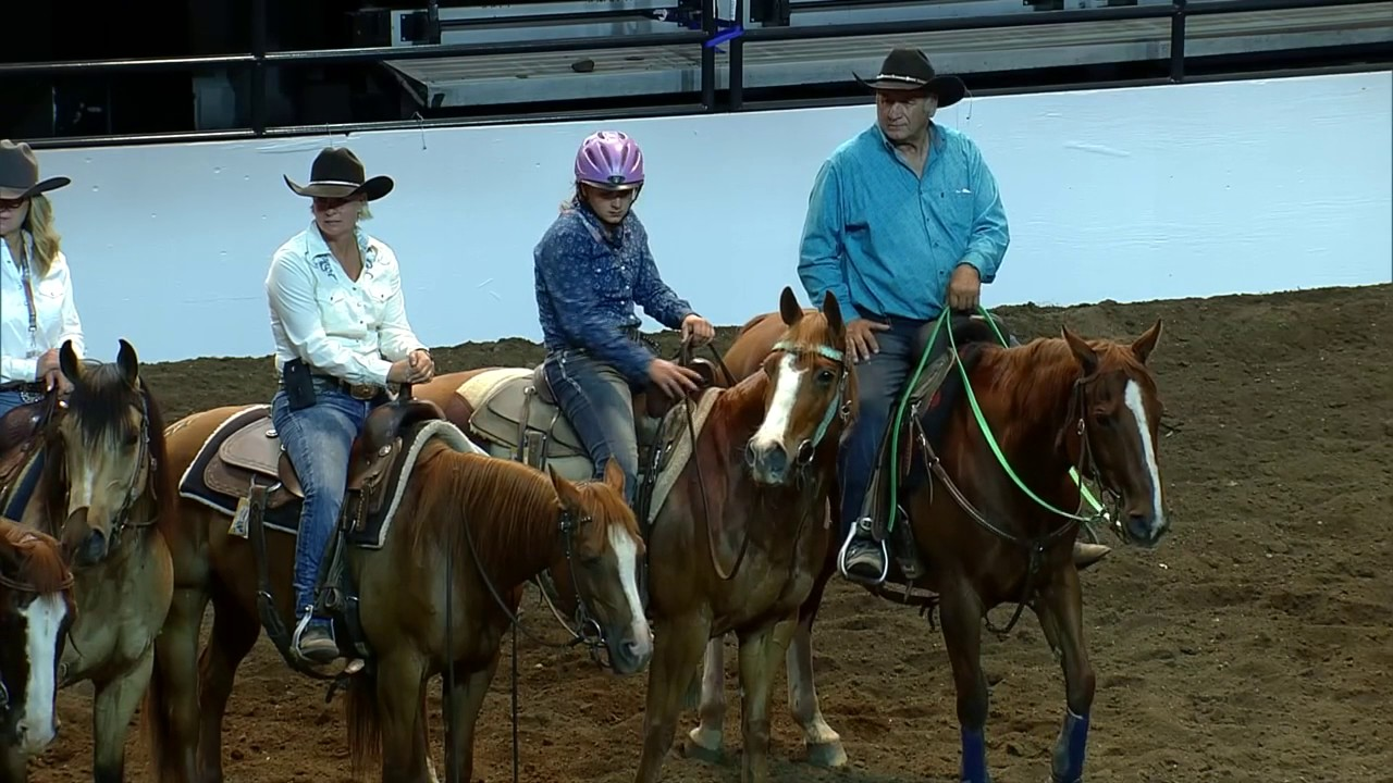 2017 Calgary Stampede 7 Class Team Cattle Penning