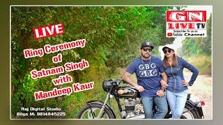 Gambar cover LIVE / Ring Ceremony / Satnam Singh with Mandeep Kaur / 19th October 2019 / GN LIVE TV