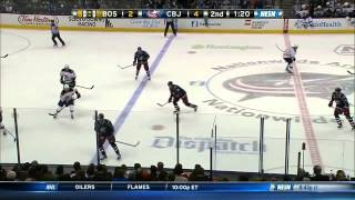 Jack Edwards Rant vs Blue Jackets 12/27/14
