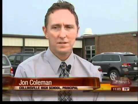 Students return to Collinsville High School