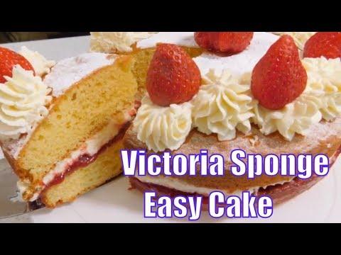 Victoria Sponge Cake Victoria Sandwich Easy Sponge Cake Recipe