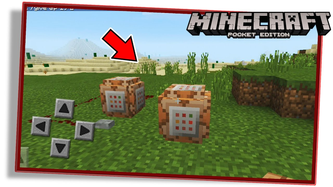 how to get command blocks in minecraft pe 0.16 0