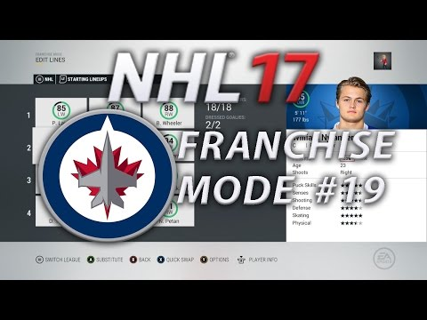 NHL 17 Franchise Mode Winnipeg Jets #19 | NO REASON FOR THIS!!