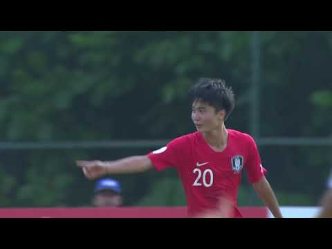 Iraq 0-2 Korea Republic (AFC U16 Malaysia 2018 : Group Stage)