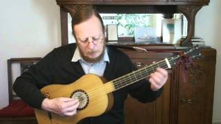 Johann-Sebastian Bach - Menuet I - Bwv 1006 - Baroque guitar