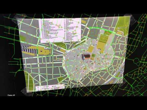 Augmenting off-the-shelf paper maps using intersection detection and GIS