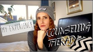 MY EXPERIENCE OF THERAPY/COUNSELLING