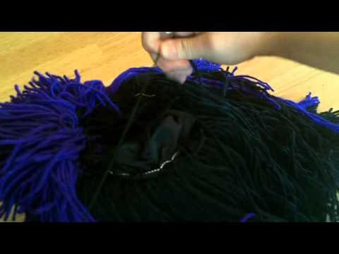 Yarn wig tutorial