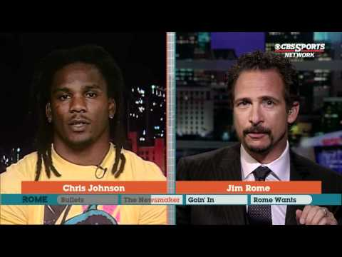Chris Johnson on Titans football Jim Rome CBS Sports