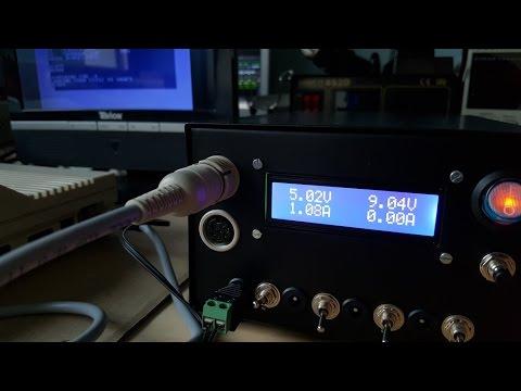 RetroPSU - Power Supply Unit for Retro Computers and Consoles