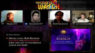 Path of Exile The Lioneye's Watch Podcast #13 - Breach League Design & Skills with GGG Rory Rackham!
