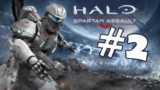 Halo Spartan Assault Walkthrough Part 2 Gameplay Review Lets Play Playthrough PC [HD]