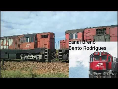 Trem da rumo, Prefixo: Z13 Maquinista: Carlos Eduardo. Em São Gabriel RS