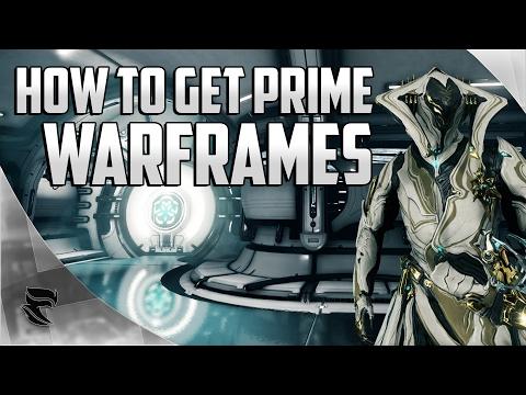 Warframe: How To Get Prime Warframes