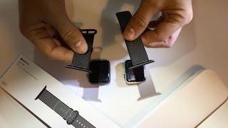 REVIEW Apple 42mm Black Woven Nylon