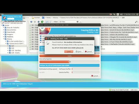 Como gravar CD MP3 usando K3B (Linux - Ubuntu)