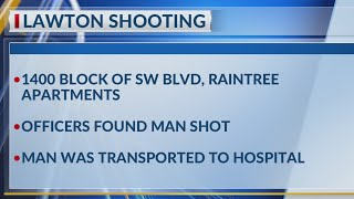 Lawton PD responds to Sunday morning shooting at Raintree Apartments