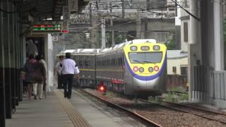 台鐵 竹北車站 黃色端面EMU800 8785次測試列車 ED883 ED884編組