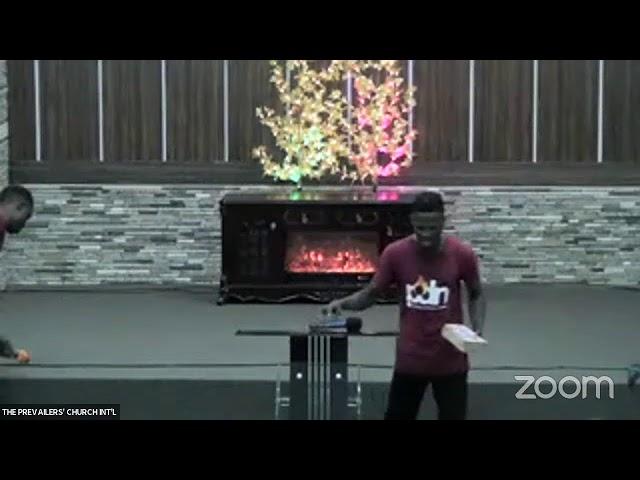 Spiritual Warfare (12.10.21) By Apostle Diran