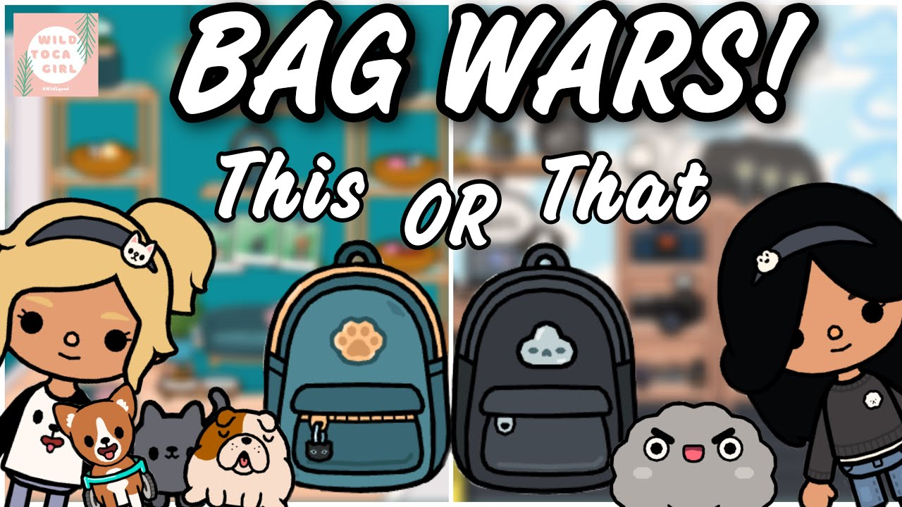 Download BAG WARS! 🎒THIS OR THAT?! 🤔 TOCA BOCA 🌎