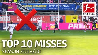 The Worst Misses 2019/20 | Lewandowski, Alcacer, Thuram & More