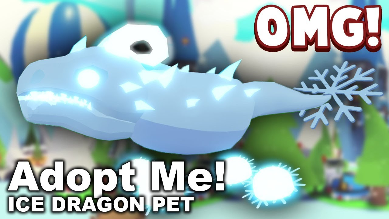 NEW FROST DRAGON IN ADOPT ME CHRISTMAS UPDATE Adopt Me Christmas
