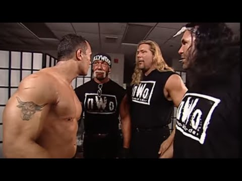 The Rock meets The nWo: No Way Out 2002