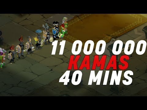 Dofus - 11 000 000 Kamas en 40Mins - Farm Team Sadi