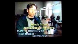 David Duchovny: Elección de Fox Mulder para The X Files.