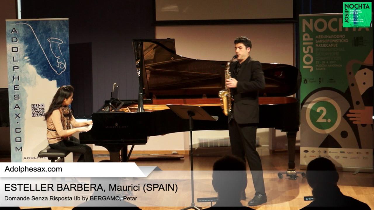 Domande senza risposta IIb Petar Bergamo   ESTELLER BARBERA, Maurici Spain