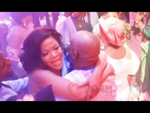 Ibrahim Chatta ,Toyin Abraham, Mide Martins & Other Actors Seriously Dancing At Wedding carnival