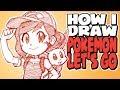 How I Draw Pokémon Let's Go | Eevee Trainer